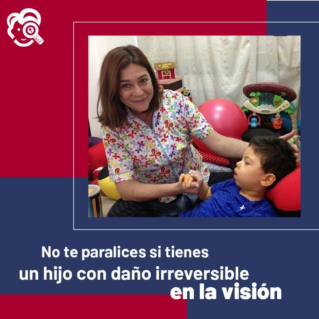 No te paralices si tienes un hijo con daño irreversible en la visión